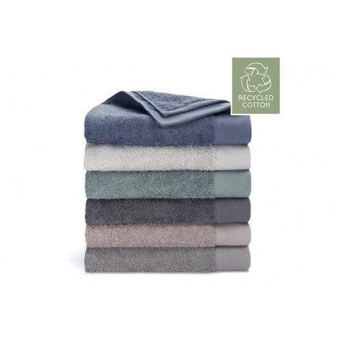 Walra Walra handdoek - Remade Cotton - Blauw - 70x140