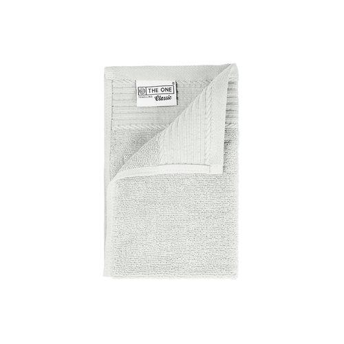 The One Towelling  Gastendoekje - Zilver grijs - 30x50 cm - Set van 5