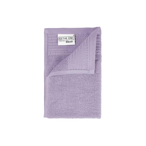 The One Towelling  Gastendoekje - Lavendel - 30x50 cm - Set van 5