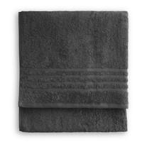 Handdoek - Bath basics- Antraciet - 50x100 cm