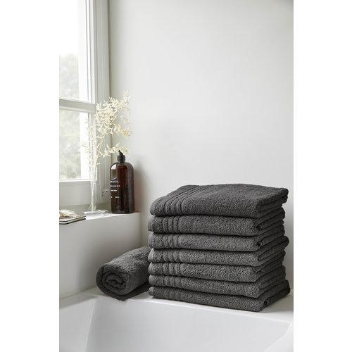 Byrklund Badlaken - Bath basics - Antraciet - 70x140 cm