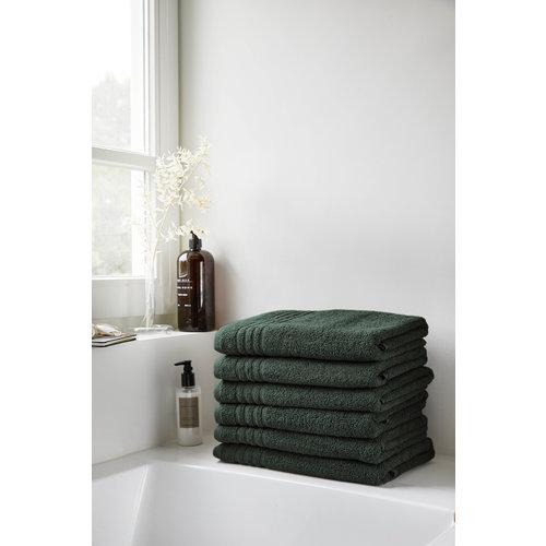 Byrklund Handdoek - Donker groen - 50x100 cm
