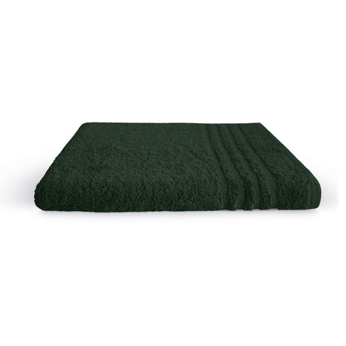 Byrklund Badlaken - Bath basics - Donker groen - 70x140 cm
