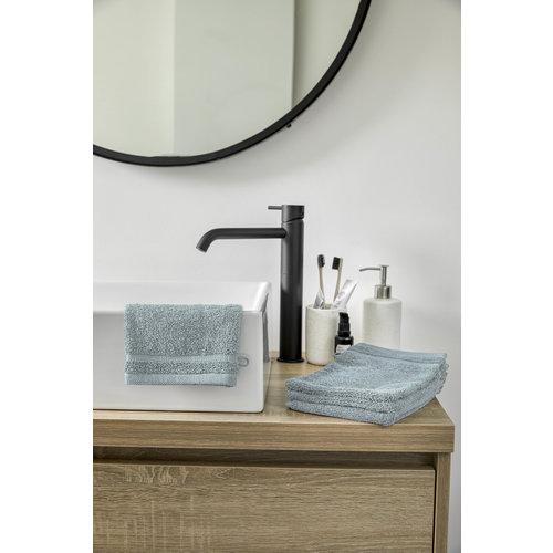 Byrklund 4 Washandjes - Bath basics - Aqua- 16x21 cm