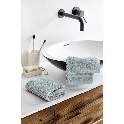 Byrklund 2 Gastendoekjes - Bath Basics - Aqua - 30x50 cm
