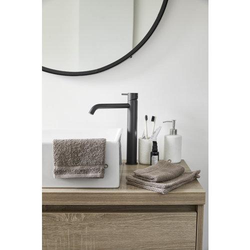 Byrklund 4 Washandjes - Bath basics- Taupe - 16x21 cm