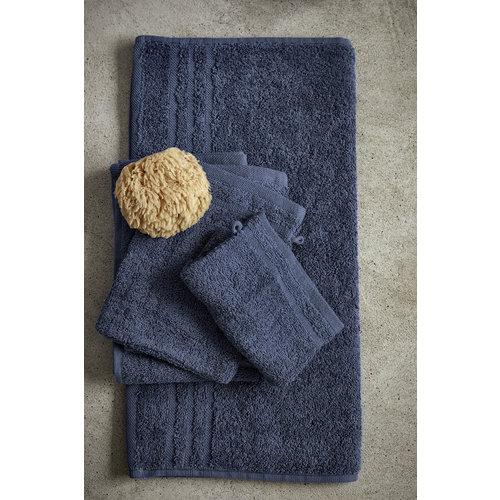 Byrklund Handdoek - Bath basics - Blauw - 50x100 cm