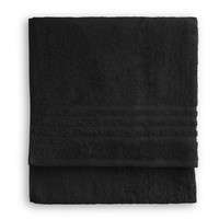 Handdoek - Bath basics - Zwart - 50x100 cm