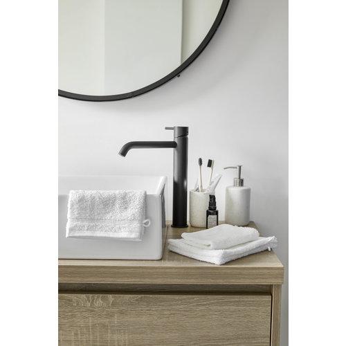 Byrklund 4 Washandjes - Bath Basics - Wit - 16x21 cm