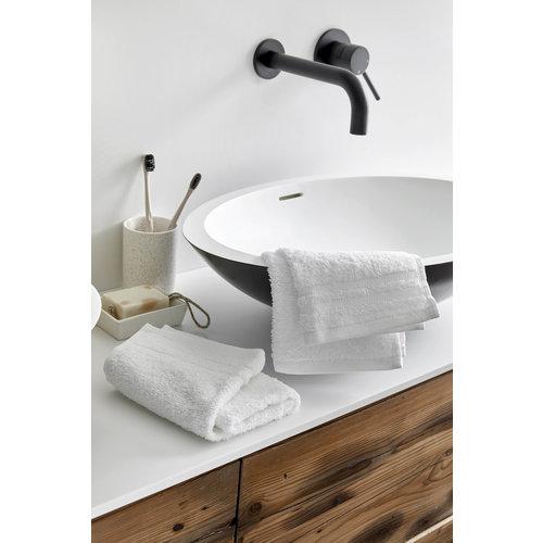 Byrklund 2 Gastendoekjes - Bath Basics - Wit  - 30x50 cm