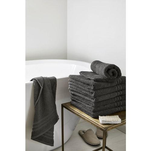 Byrklund Handdoek - Antraciet - 50x100 cm - Set van 5