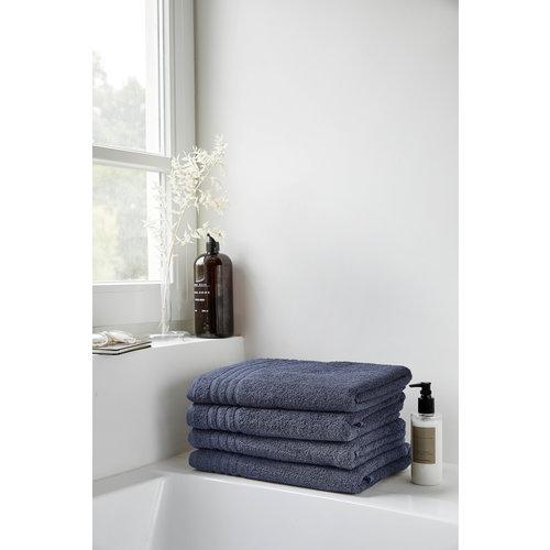 Byrklund Handdoek - Blauw - 50x100 cm - Set van 5