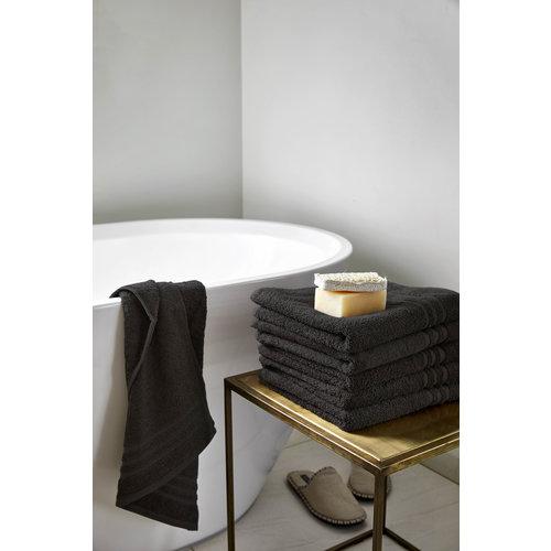 Byrklund Handdoek - Zwart - 50x100 cm - Set van 5