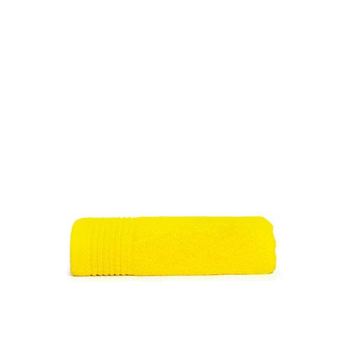 The One Towelling  Handdoek - Geel - 50x100 cm - Set van 10