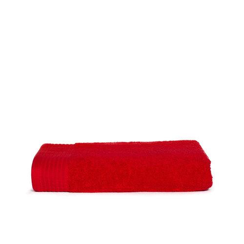 The One Towelling  Badlaken - Rood - 70x140 cm - Set van 10