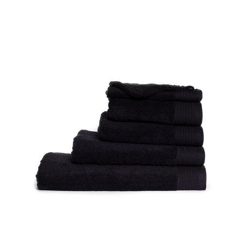 The One Towelling  Handdoek - Zwart - 60x110 cm