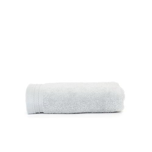 The One Towelling  Handdoek - Organic - Zilver grijs - 50x100 cm