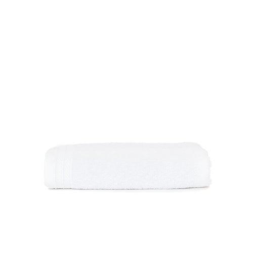 The One Towelling  Handdoek - Organic - Wit - 50x100 cm