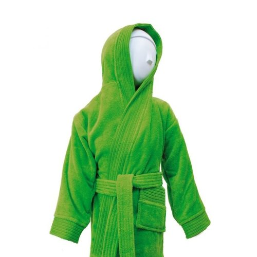 The One Towelling  Baby Badjas - Lime groen