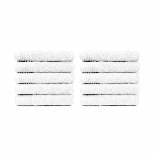 The One Towelling  Handdoek - Wit - 50x100 cm