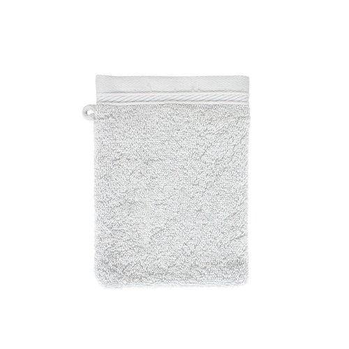 The One Towelling  Washandje - Organic - Zilver grijs - 16x21 cm