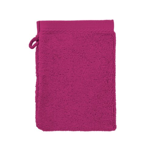 The One Towelling  Washandje - Magenta - 16x21 cm