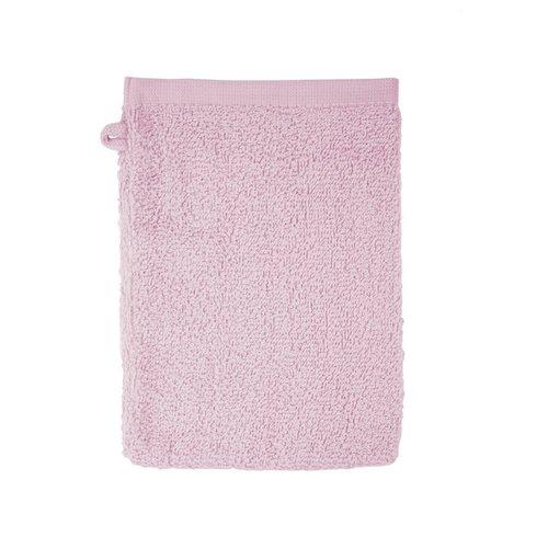 The One Towelling  Washandje - Licht Roze - 16x21 cm