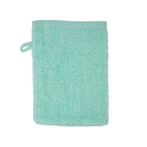 The One Towelling  Washandje - Mint - 16x21 cm