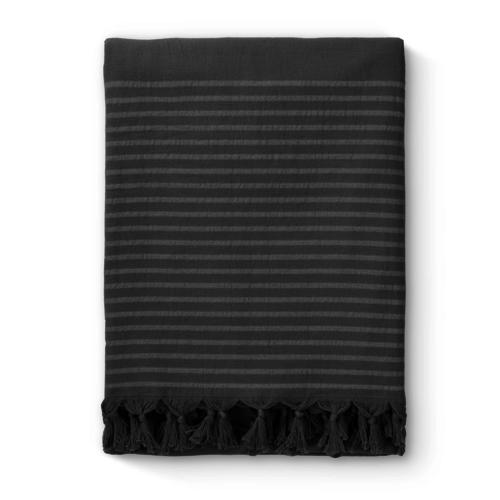 Byrklund Hamamdoek - Bath Basics - Antraciet - 100x180 cm