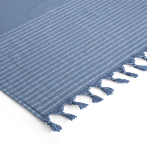 Byrklund Hamamdoek - Bath Basics - Blauw - 100x180 cm