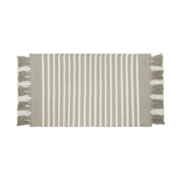 Badmat - Stripes - Taupe