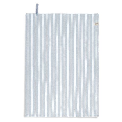 Walra Theedoek -Jeans blauw - Stripes