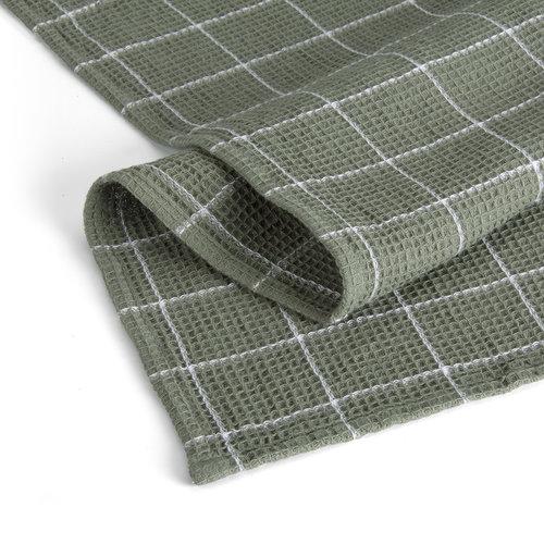 Walra Keukendoek Cubes - Leger groen