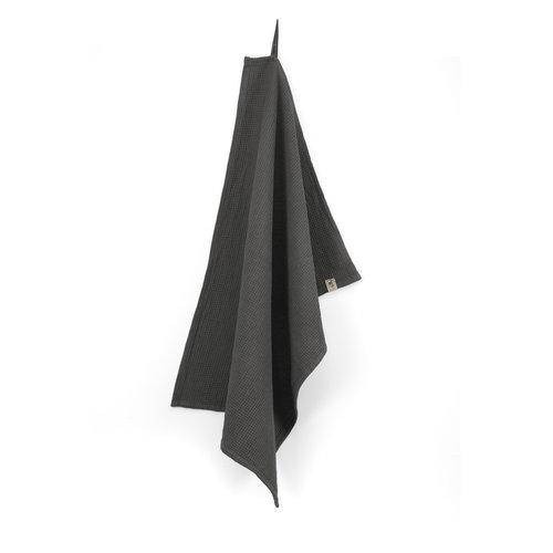 Walra Keukendoek Cubes Uni - Off black