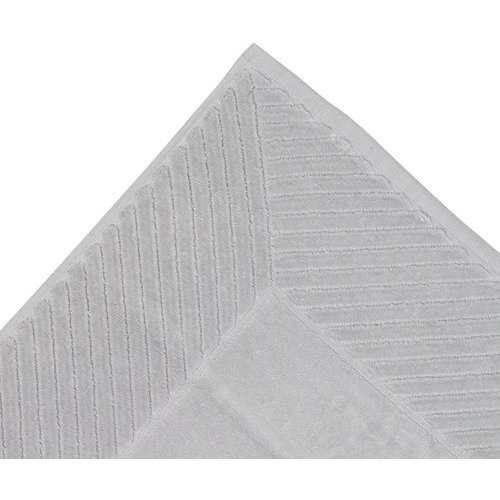 The One Towelling  Badmat  Ultra - Zilver grijs