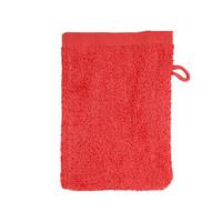 Washandje - Rood - 16x21 cm - Set van 10