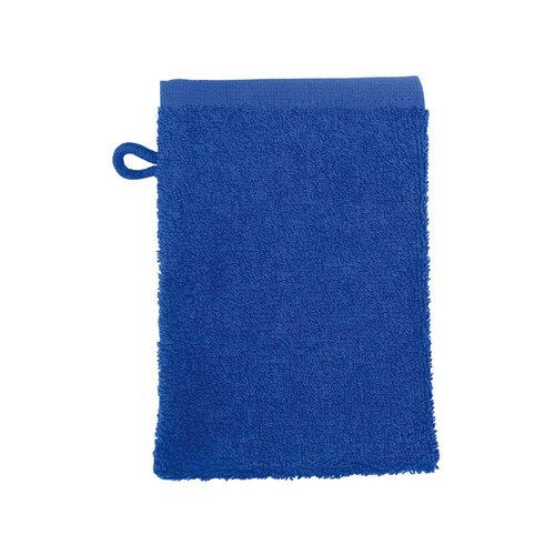The One Towelling  Washandje - Kobalt Blauw - 16x21 cm - Set van 10