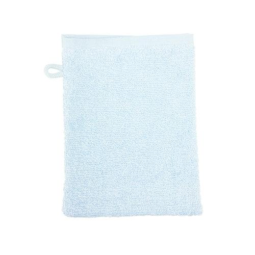 The One Towelling  Washandje - Licht Blauw - 16x21 cm - Set van 10