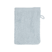 Washandje -Zilver grijs - 16x21 cm  - Set van 10