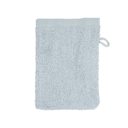 The One Towelling  Washandje -Zilver grijs - 16x21 cm  - Set van 10