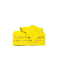 5 Gastendoekjes - Geel - 30x50 cm