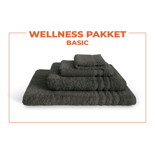 Byrklund Wellness pakket - Basic - Antraciet