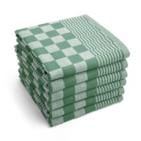 Theedoek - Groen - Set van 6