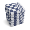 Keukendoek - Blauw - Set van 6