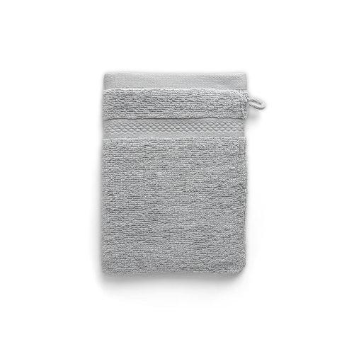 Seashell Washandje - Licht grijs - 16x21 cm - Set van 6