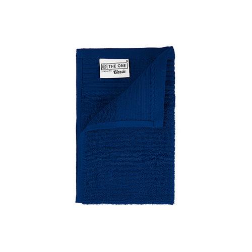 The One Towelling  Gastendoekje - Kobalt Blauw - 30x50 cm