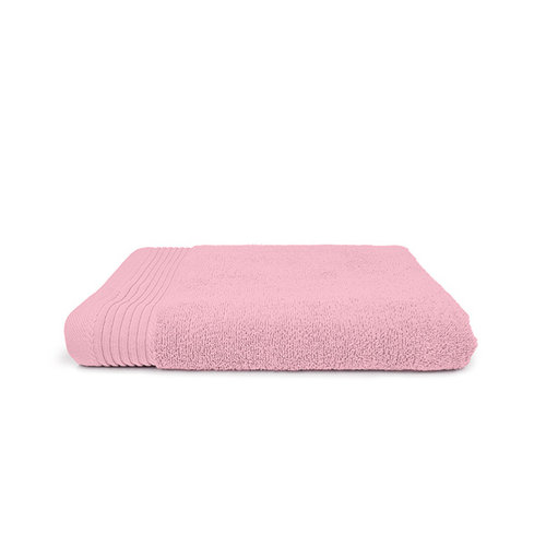 The One Towelling  Badlaken - Licht roze - 70x140 cm - Set van 5