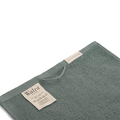 Walra 2 Walra Gastendoekjes - Leger Groen - 30x50 cm