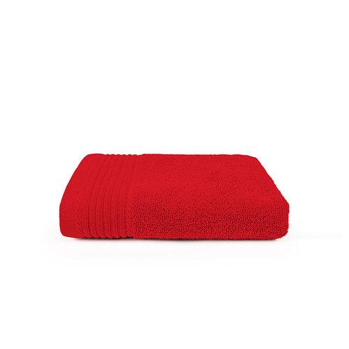 The One Towelling  Handdoek - Rood - 50x100 cm - Set van 5