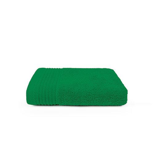 The One Towelling  Handdoek - Groen - 50x100 cm - Set van 10